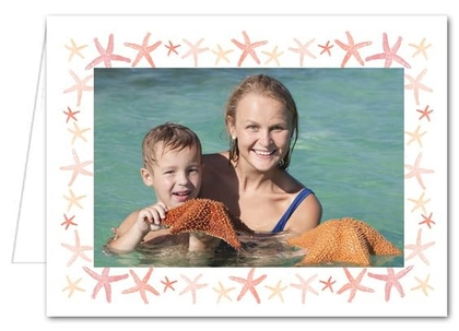 Starfish Photo Holder Holiday Christmas Cards*
