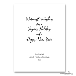V005 Warmest Wishes