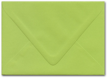 5 x 7 Envelope - Sour Apple