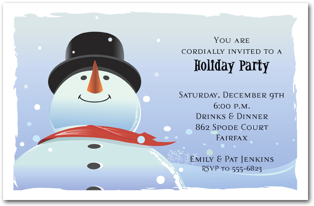 winter birthday party invitations snowman invitations childrens party