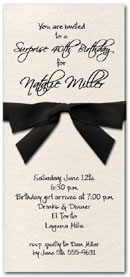 Shop our Ribboned Stardeam Invitations