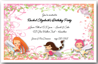 Frolicking Fairies Invitation
