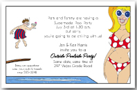 Pool Party Beauties Invitation