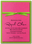 Shop our Layered & Ribboned Stardeam Invitations