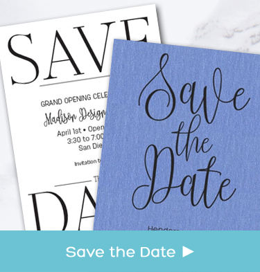 Business - Company - Corporate Save the Date Cards