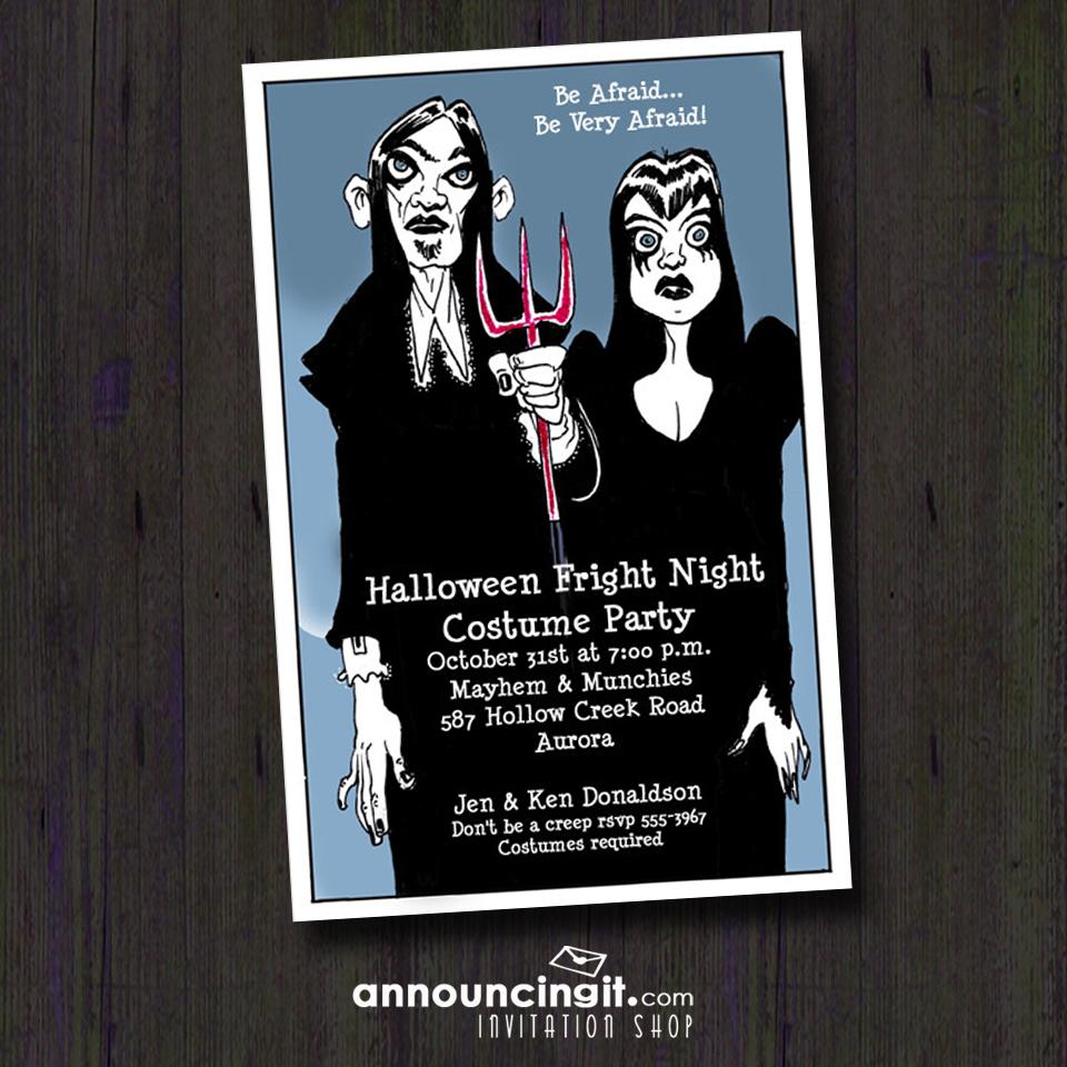 Goth Halloween Party Invitations | AnnouncingIt.com Blog