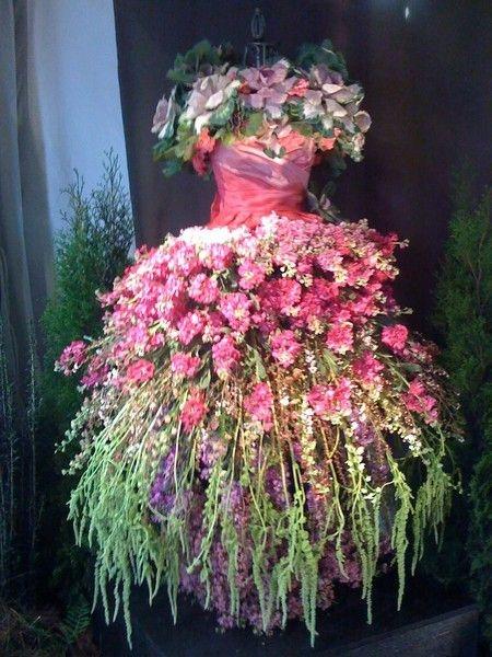 Amazing Evening Gown Floral Arrangement