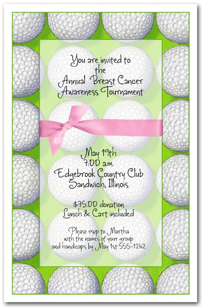 Breast Cancer Awareness Golf