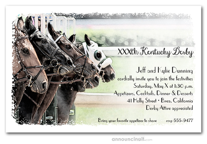 The Gate Kentucky Derby Invitations
