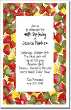 Bow Tie Pasta Party Invitations