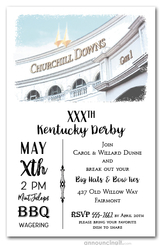 Churchill Downs Gate One Kentucky Derby Invitations
