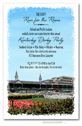 Churchill Infield Kentucky Derby Invitations
