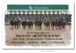 Churchill Starting Gate Derby Invitations