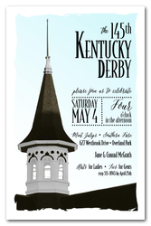 Churchill Steeple Kentucky Derby Invitations
