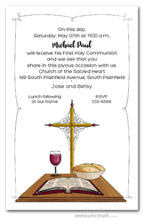 Communion Day Invitations