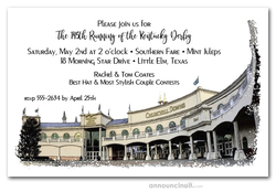 1st Saturday in May Derby Invitations