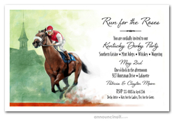 Front Runner Kentucky Derby Invitations
