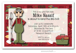 Gone Fishing Invitations