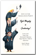 Higher Learning Graduation Invitation