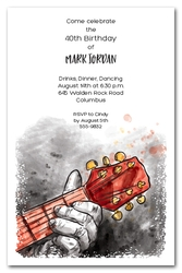 Guitar Player Invitations
