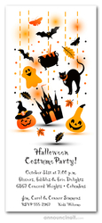 Haunted Sights Halloween Invitations