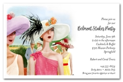 Horse Racing Elegance Belmont Stakes Invitations