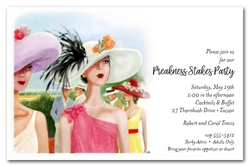 Horse Racing Elegance Preakness Stakes Invitations