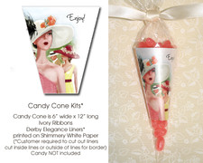 Derby Elegance Candy Cone Kit