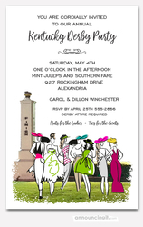 Ladies Finery Kentucky Derby Party Invitations