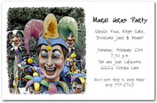 Mardi Gras Jester Float