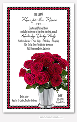 Julep Cup of Roses Kentucky Derby Invites