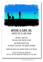 Morning Golf Outing Invitations