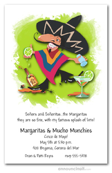 Senor Margarita Cinco de Mayo Invitations