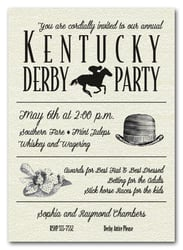 Shimmery Derby Day Billboard