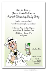 Southern Hospitality Derby Party Invitations