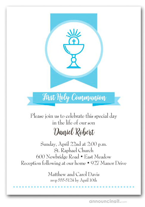 First Communion Invitations First Holy Communion Invitations