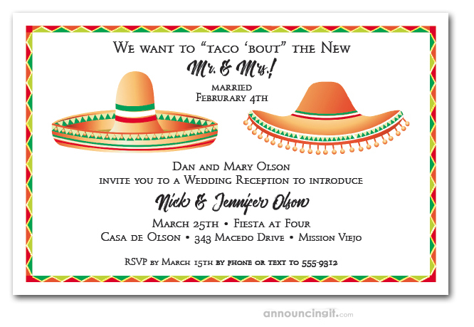77f975b12c2b Dos Sombreros Fiesta Party Invitations