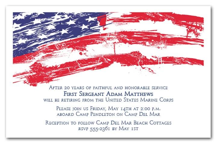 Military Invitations Military Homecoming Invitations