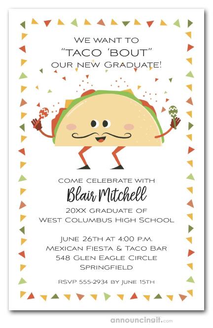 Taco Bout Fiesta Graduation