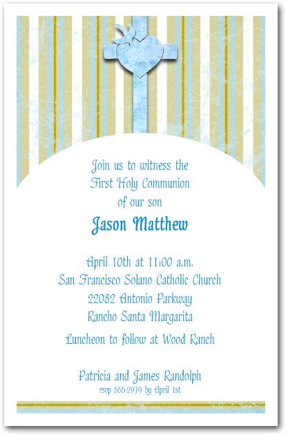 catholic baptismal invitations