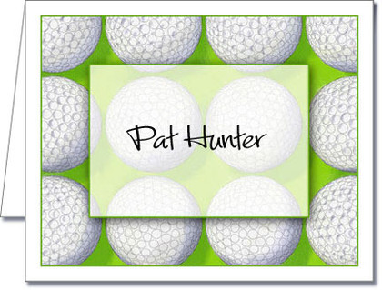 Note Cards: Score Golf