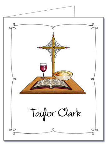 Note Cards: Communion Day