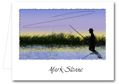 Note Cards: Fly Fishing