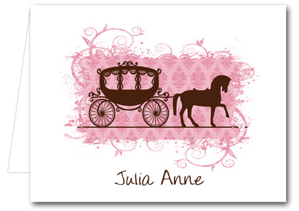 Note Cards: Horse Carriage