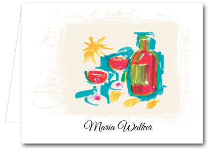 Note Cards: Summer Wine