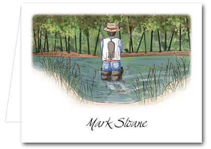 Note Cards: The Fisherman