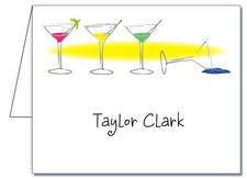 Note Cards: 123 Floor Martinis