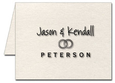 Note Cards: Wedding Rings