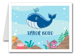Note Cards: Blue Whale