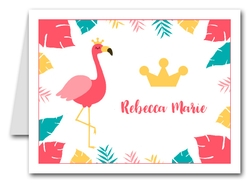 Note Cards: Flamingo Princess